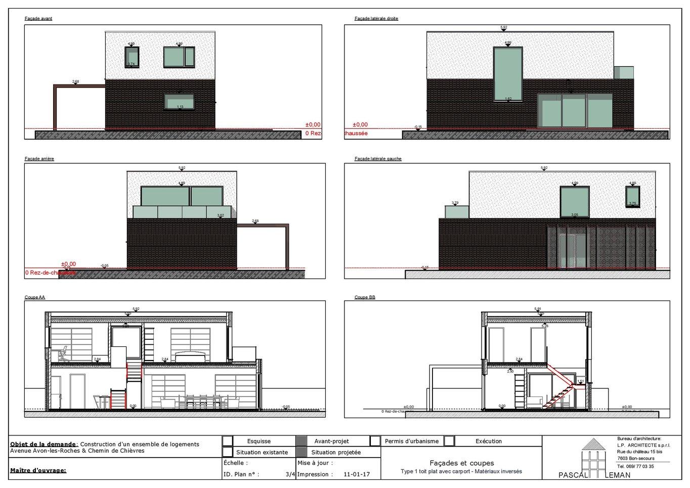 project, 3d, développeur, immobilier, construction, maison ...